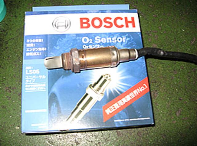 ベンツの汎用ボッシュラムダセンサー