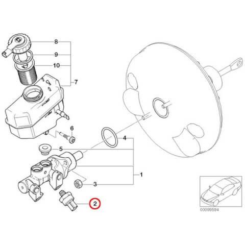 BMWのDSC回路のイラストです