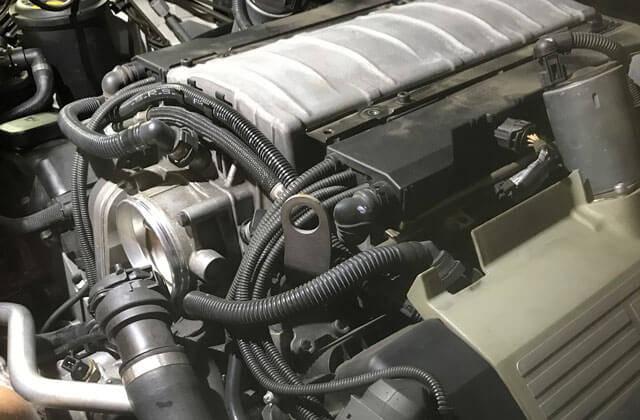 BMWのエンジン画像です